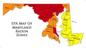 Radon Test Frederick MD 199 certified Professionals by NRPP 48h